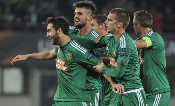Rapid Wien kohtaa Eurooppa-liigan karsinnassa Slovan Bratislavan vieraissa.