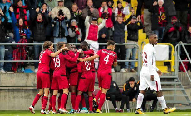 Östersund otti sensaatiomaisen voiton Galatasaraysta Eurooppa-liigan karsinnoissa.