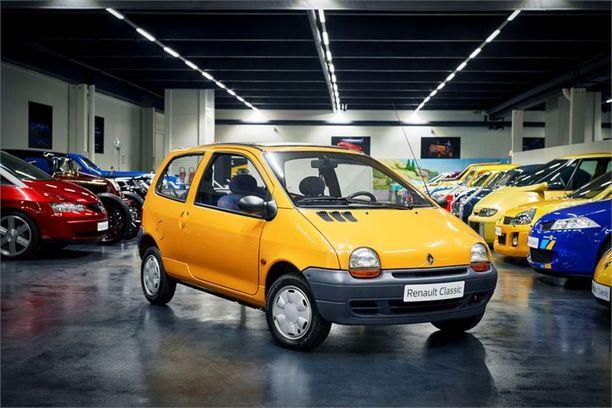 Twingo oli ensimmäinen minikokoinen tila-auto vuonna 1993.
