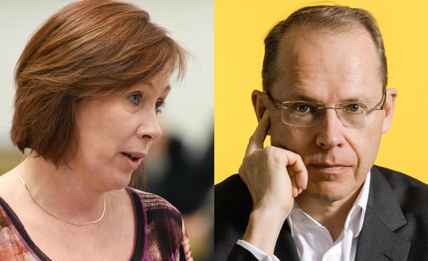 Valtion omistajaohjauksesta vastaava ministeri Sirpa Paatero (sd) kommentoi Heikki Malisen eroa keskiviikkona iltapäivällä.