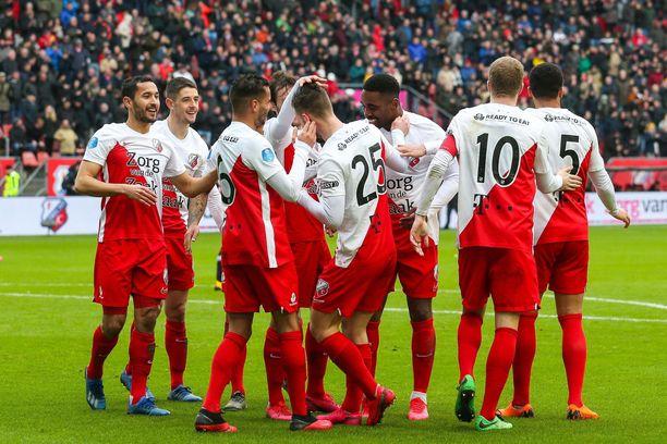 FC Utrecht oli täysillä mukana taistelussa paikoista Euroopan kentille, ennen kuin koronavirus keskeytti jalkapallokauden.