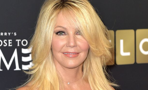 Heather Locklear ajou Porschellaan ojaan.
