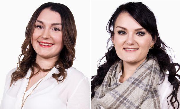 Roosaa ja Iinaa on luultu kaksosiksi, niin saman näköisiä he monen mielestä ovat.