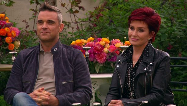 Robbie toimii Subilla tänään nähtävässä jaksossa Sharon Osbournen aputuomarina.