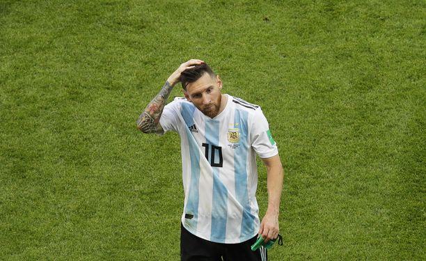 Lionel Messi pohtii maajoukkueuransa jatkoa.