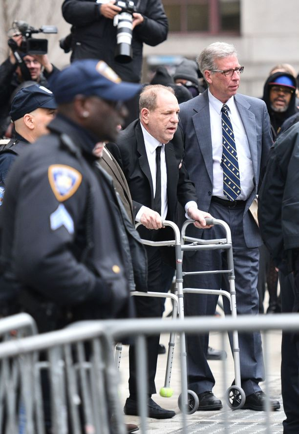 Harvey Weinstein New Yorkissa tammikuussa 2020.