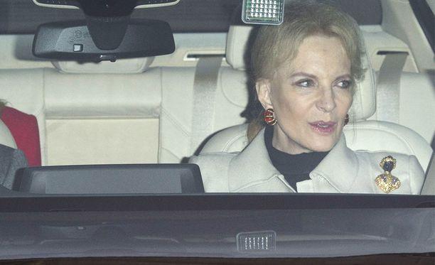 Kentin prinsessa Michael ei välttämättä itse ymmärtänyt, että hänen koruvalintansa aiheutti skandaalin.