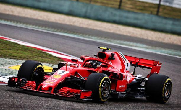 Kimi Räikkönen ajaa vahvaa F1-kevättä.