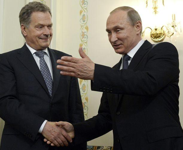Presidentit Sauli Niinistö ja Vladimir Putin tapasivat viimeksi 16. kesäkuuta Venäjällä.