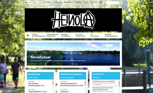 Heinolan uusi logo.