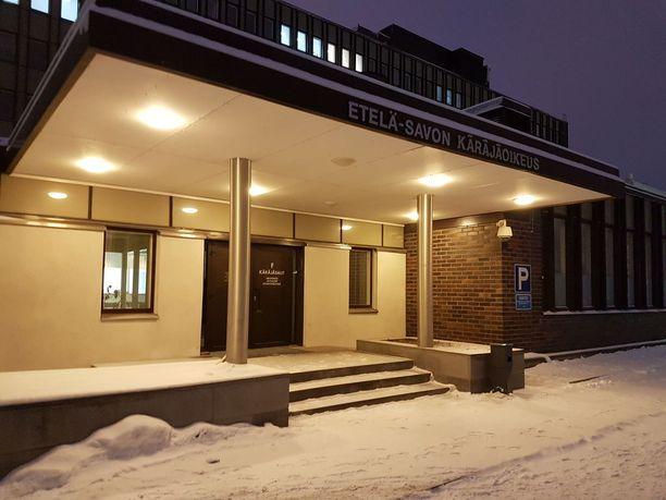 Surma tapahtui Mikkelissä viime maaliskuussa. Asiaa käsiteltiin Etelä-Savon käräjäoikeudessa Mikkelissä.