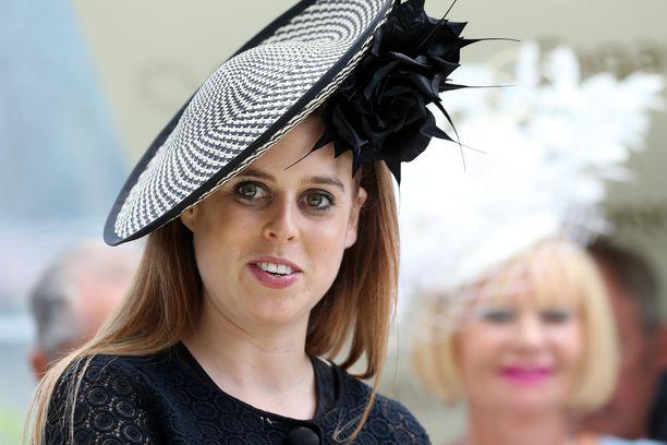 Prinsessa Beatrice on prinssi Andrew'n ja Sarah Fergusonin vanhin tytär. Kuva: AOP