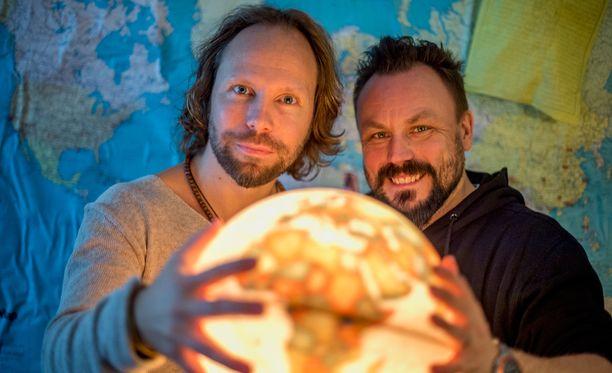 Tuomas Milonoffin ja Riku Rantalan viimeisin yhteistyöprojekti Zarkus Poussan kanssa jäi kesken.