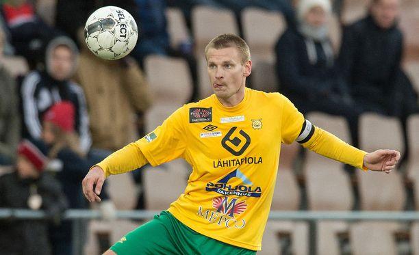 Heikki Aho iski ottelun ainokaisen.