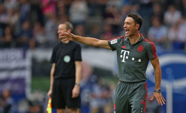 Niko Kovac siirtyi Eintracht Frankfurtista Bayernin peräsimeen.