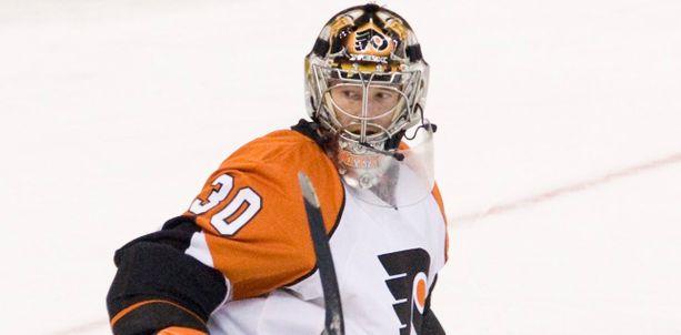 Antero Niittymäki torjui Philadelphia Flyersin maalilla viiden kauden ajan.