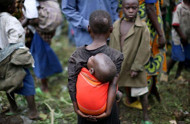 Unicef on erityisen huolissaan lapsista, jotka ovat joutuneet eroon perheistään.