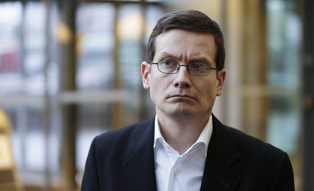 HS:n päätoimittaja Kaius Niemi.