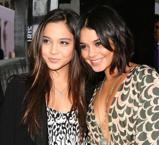Vanessan seuralaisena oli hänen siskonsa Stella.