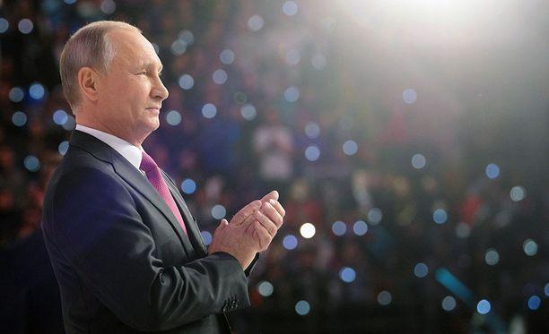 Vladimir Putin voittaa lähes varmasti myös seuraavat Venäjän presidentinvaalit.