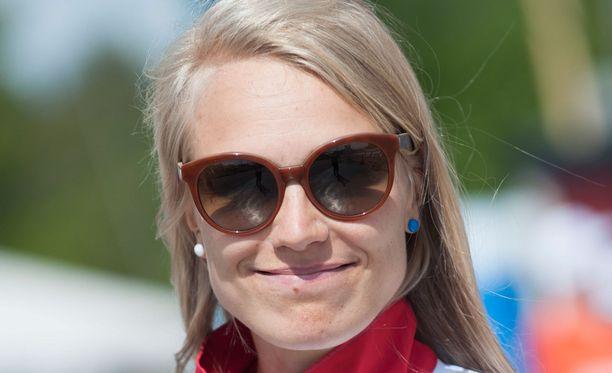 Huippusuunnistaja Minna Kauppi ei ole vielä lopettanut kilpauraansa.