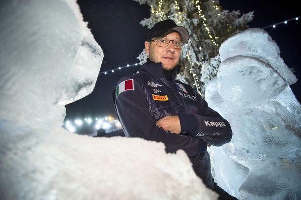 Kimmo Savolainen toimii Italian yhdistetyn maajoukkueen mäkivalmentajana.