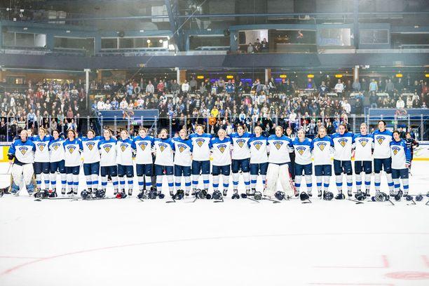 Naisten MM-kisat pelattiin viime vuonna Suomessa.