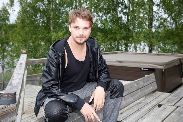 Roope Salminen Himos Juhannus -festivaaleilla.