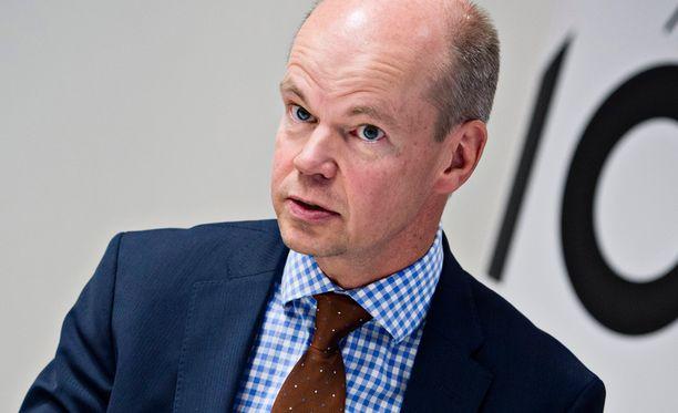 Valtiosihteeri Olli-Pekka Heinonen.