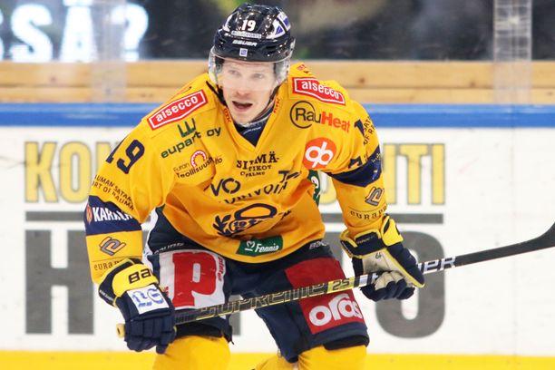 Janne Keränen keräsi kaksi syöttöpistettä KooKoota vastaan.