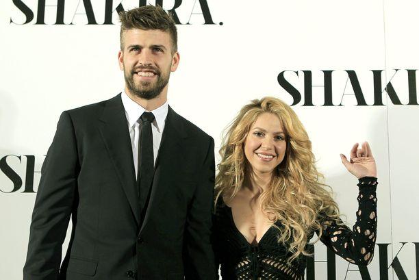 Gerard Pique ja Shakira viettivät joulun Suomessa.