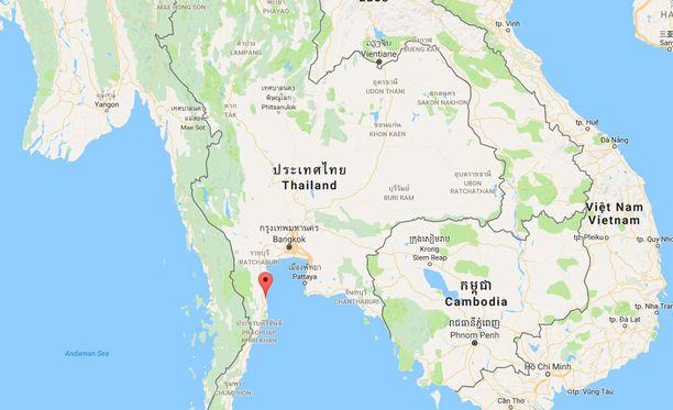 Hua Hin on suosittu turistikohde Thaimaan eteläosassa.