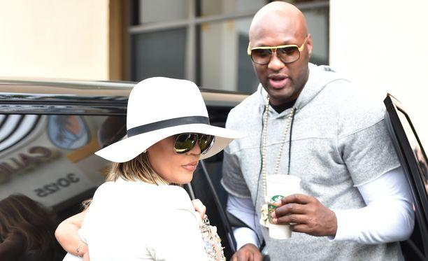 Khloé Kardashian ja Lamar Odom nähtiin viimeksi yhdessä menossa pääsiäiskirkkoon.