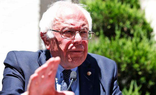 Bernie Sanders toivoo Donald Trumpin häviävän presidenttikisan.