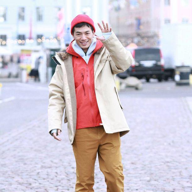 Yhdeksi päiväksi mies pääsi ulkoilemaan Helsinkiin.