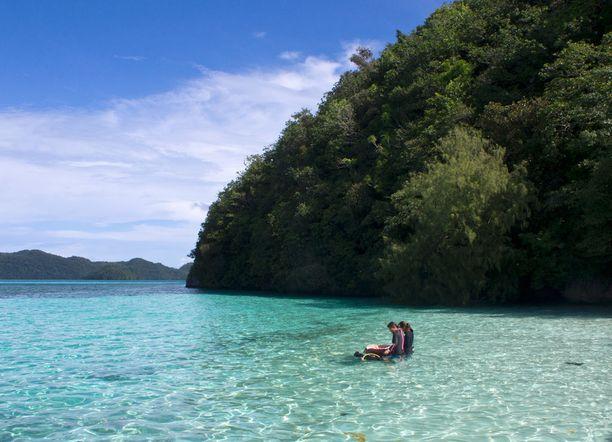 Palau on vedessä viihtyvän unelmakohde.