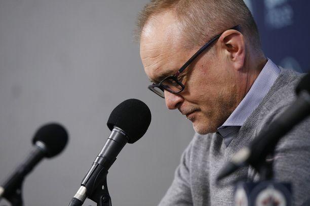 Winnipeg Jetsin päävalmentaja Paul Maurice kuvasi valmentajan potkuja erittäin tuskalliseksi kokemukseksi.