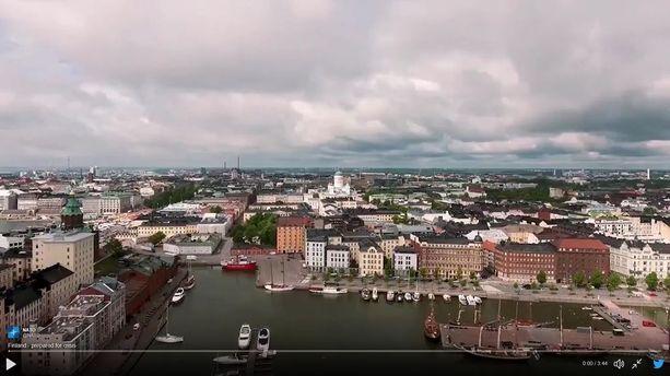 """Puolustusliitto Nato julkaisi """"mainosvideon"""" Helsingin pommisuojista."""