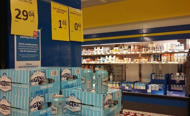 Ruokakaupoissa on saanut myydä vuoden alusta lähtien 5,5-prosenttista lonkeroa.
