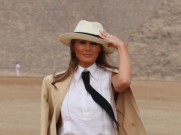 Melania Trump kiistää tuoreessa haastattelussa, että hänen avioliittonsa Donald Trumpin kanssa olisi ongelmissa.