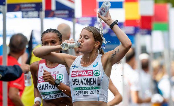 Elisa Neuvonen oli lauantaina Berliinissä 23:s.