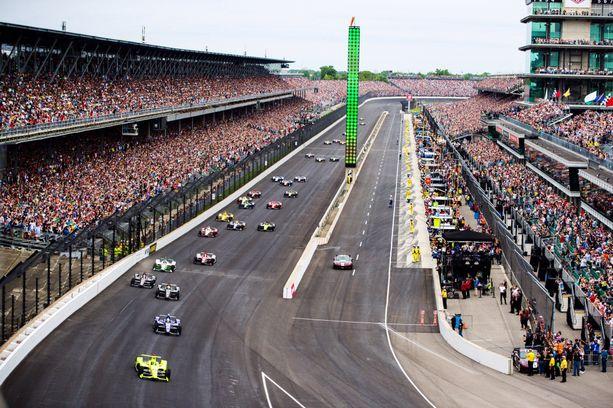 Indy500 on maailman suurin autourheilukilpailu.