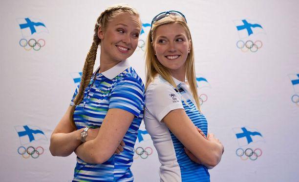 Mikaela Wulff ja Niki Blässar