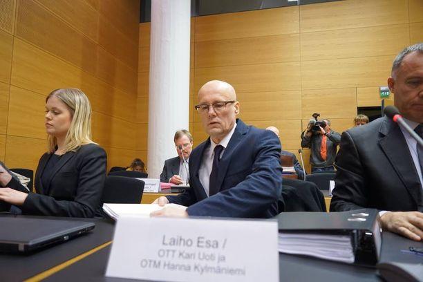 Esa Laihon oikeudenkäynnin pääkäsittely alkoi Helsingin käräjäoikeudessa tammikuussa.