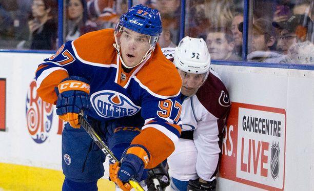 Connor McDavidia pidetään NHL:n suurimpana lahjakkuutena.