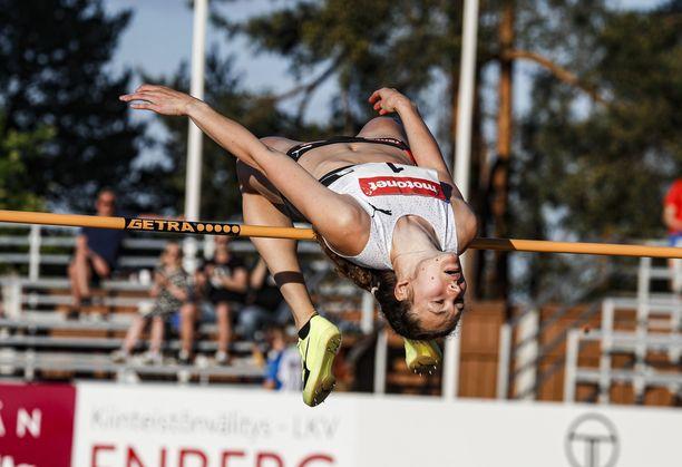 Ella Junnila kilpailee seuraavan kerran tiistaina Paavo Nurmi Gamesissa.
