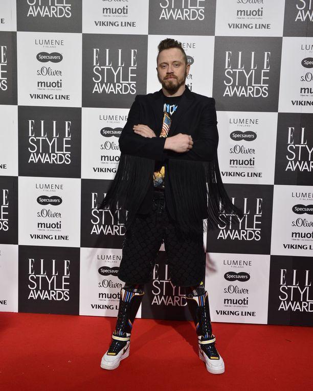 Teri Niitti Elle Style Awards -gaalassa vuonan 2014