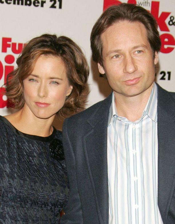 Näyttelijäpari Tea Leoni ja David Duchovny ovat olleet aviossa vuodesta 1997.