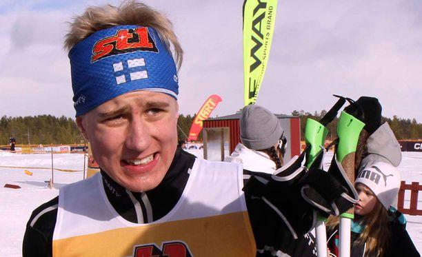 Lauri Lepistö hiihti komeasti mitaleille. Arkistokuva.