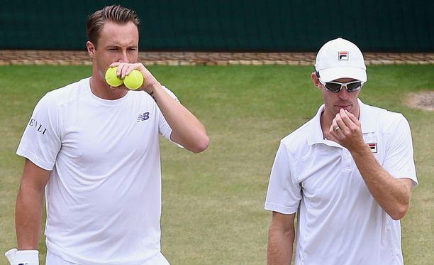 Henri Kontisen ja John Peersin urakka Cincinnatin ATP-turnauksessa päättyi puolivälieriin.